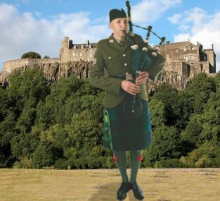 Argyll & Sutherland Highlanders no 2 dress